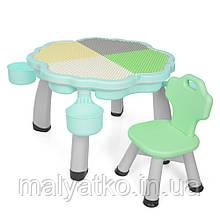 *Комплект мебели для сборки конструктора (столик+стульчик) TM Bambi арт. 2020-3-4