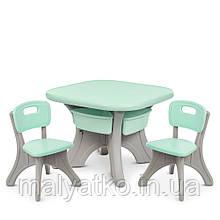 *Комплект меблів (стіл+2 стільці) TM Bambi арт. NEW TABLE-5