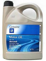 Масло моторное GM Genuine Dexos2 5W-30 5л