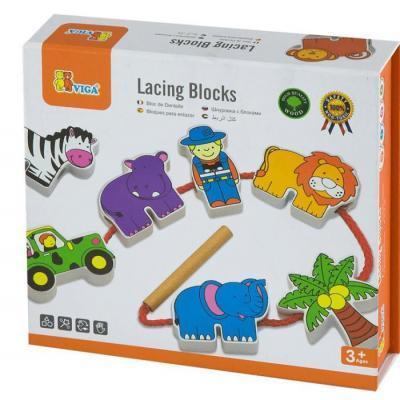 Развивающая игрушка Viga Toys Зоопарк (59549)
