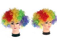 Парик клоун разноцветный