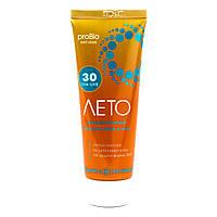 Крем солнцезащитный Лето SPF 30 (защищает кожу от солнца, ожоги, морщины, пигментные пятна, UVA и UVB фильтры)