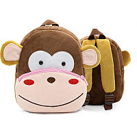 Плюшевый детский рюкзак Обезьянка
