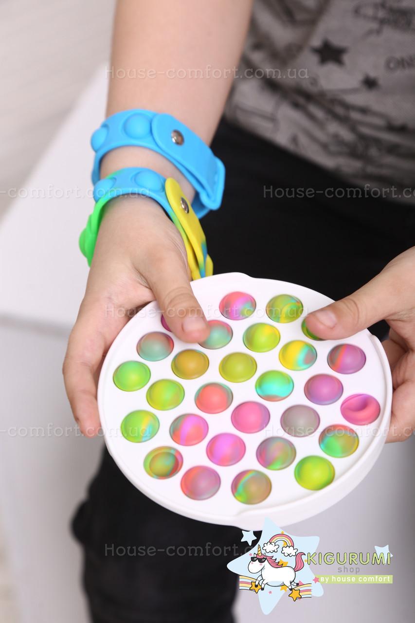 Антистрес Пуш ап міхур, іграшка антистрес, іграшка антистрес для дорослих і дітей, push bubble fidget