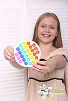 Антистрес Пуш ап міхур, іграшка антистрес, іграшка антистрес для дорослих і дітей, push bubble fidget, фото 3