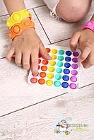 Антистрес Пуш ап міхур, іграшка антистрес, іграшка антистрес для дорослих і дітей, push bubble fidget, фото 7