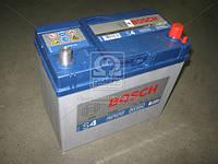 Аккумулятор 45Ah-12v BOSCH (S4021) (238x129x227), правый +, пусковой ток 330(Азия)