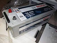 Аккумулятор 140Ah-12v BOSCH (T4076) (513x189x223), левый +, пусковой ток 800