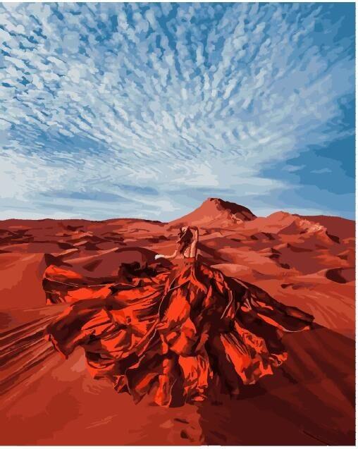 Она - стихия пустыни