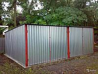 Типы гаражей металлический гараж