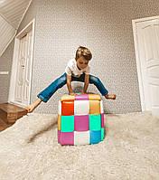 Пуф трансформер 5в1 складные для кухни, смарт куб пуфик табурет, лофт мебель кресла и пуфы для
