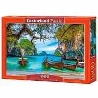Пазлы Castorland 1500 эл Красивая бухта в Тайланде С-151936