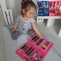 Набор детский для рисования и творчества в чемодане 86 предметов