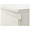 Комод з 2 шухлядами 35x49 см IKEA KULLEN біла тумбочка у вітальню або спальню (нічна) ІКЕА КУЛЛЕН, фото 4