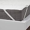 Чохол для матраца 80x200 см IKEA LUDDROS наматрацник односпальний ІКЕА ЛУДДРОС, фото 2