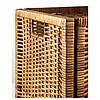 Плетений коробка для зберігання речей ротанг IKEA BRANÄS 32x34x32 см ящик органайзер коричневий ІКЕА БРАНЕС, фото 6