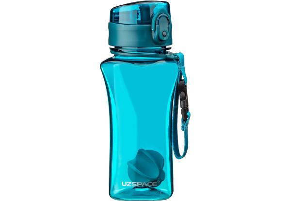 Бутылка фляга спортивная для воды UZspace 6005 350 мл Голубой (gr_012063)