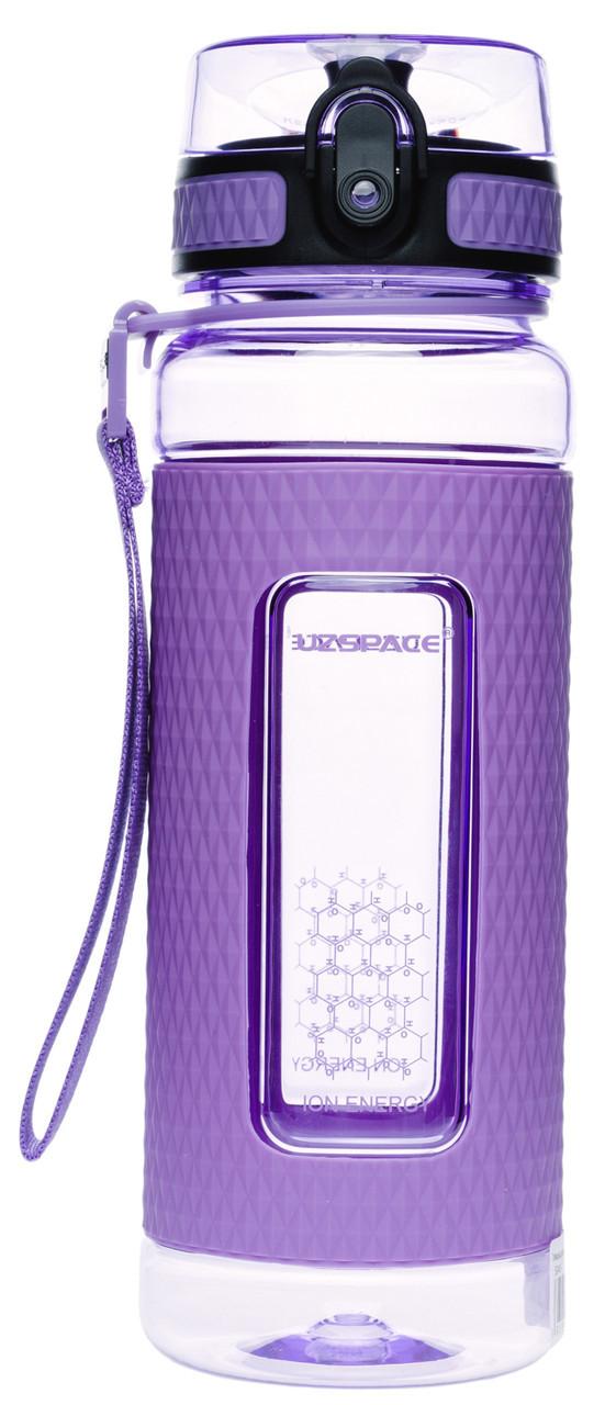 Бутылка фляга спортивная для воды UZspace 5045 700 мл Фиолетовый (gr_012021)