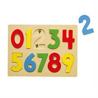 Деревянный пазл Viga Toys Цифры (58545)