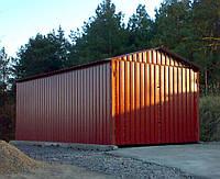 Конструкция сборного гаража