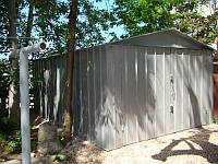 Собрать металлический гараж