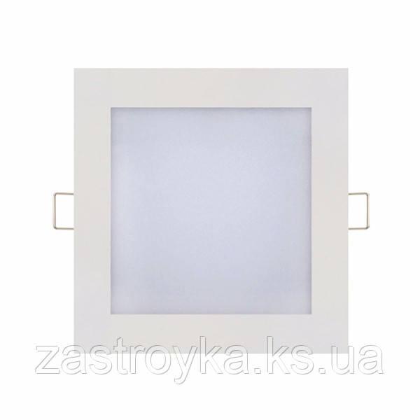 Світлодіодний світильник врізний Slim/Sq-9 9W 2700К