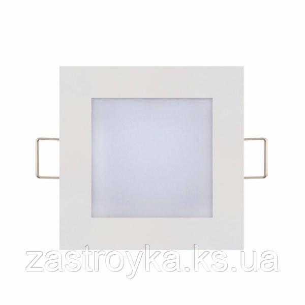 Светодиодный светильник врезной Slim/Sq-3 3W 2700К