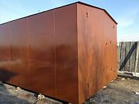Металлический гараж от производителя