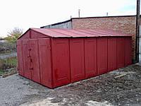 Строительство гаражей из металла