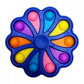"""Гра-Антистрес Сімпл дімпл """"Квітка-Спиннер"""" SM-DM-Fs(Blue) Синій"""