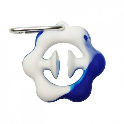 Іграшка-антистрес. Еспандер поп-іт PPT-Ex (Blue-White) Еспандер Синьо-Білий, фото 2