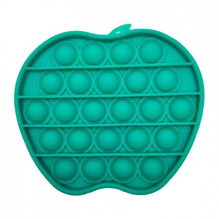 """Игрушка-антистресс """"POP-IT"""" PPT-A (Green) """"Яблоко"""" Зелёный, фото 2"""