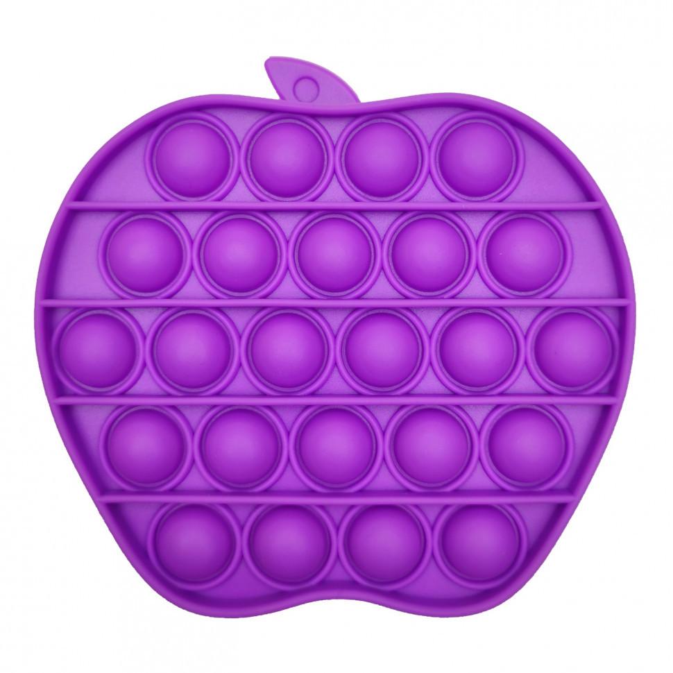 """Игрушка-антистресс """"POP-IT"""" PPT-A(Violet) Яблоко Фиолетовый"""