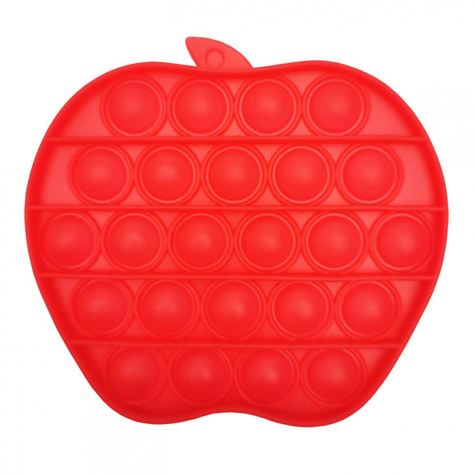 """Поп-іт силіконова іграшка, вічна пупирка """"Яблуко"""""""