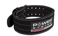 Пояс для пауерліфтингу Power System Power Lifting PS-3800 Black XL