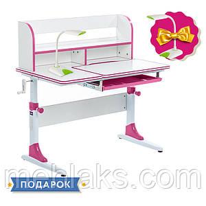 Растущая парта для девочки Cubby Nerine Pink