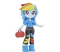Мини-кукла Рэинбоу Дэш со съемным нарядом, обувью и аксессуарами