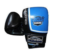 Снарядні рукавички, битки Power System PS 5003 Bag Gloves Storm Black/Blue S