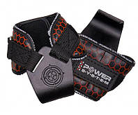 Гаки для тяги на зап'ястя Power System Hooks V2 PS-3360 Black/Red XL