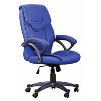 Кресло Фокси HB кожзам голубой (J-9022 PU Blue)