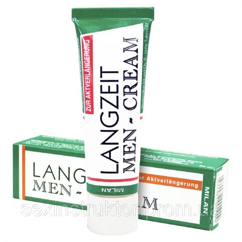 Пролонгатор - Langzeit Manner Creme, 26 мл