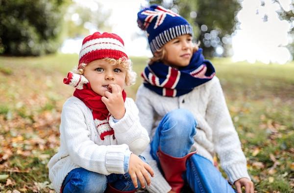 теплые детские зимние кофты
