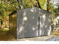 Изготовление металлических гаражей