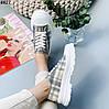 Кросівки жіночі літні в клітку, фото 6