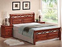 Дерев'яне ліжко Genewa 160*200 / Деревянная кровать Geneva 160*200