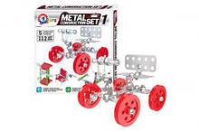 """Конструктор """"Metal Set"""", 112 деталей 6399"""