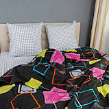 Комплект постельного белья KrisPol «Разноцветные квадраты» 150x220 Сатин, фото 2