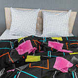 Комплект постельного белья KrisPol «Разноцветные квадраты» 150x220 Сатин, фото 3