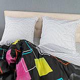 Комплект постельного белья KrisPol «Разноцветные квадраты» 150x220 Сатин, фото 4