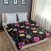 Комплект постельного белья KrisPol «Разноцветные квадраты» 180x220 Сатин